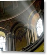 Sunbeams Heavenward Metal Print