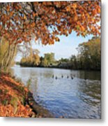 Sunbury On Thames Surrey Uk Metal Print