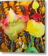Sundae Flower Cone Metal Print