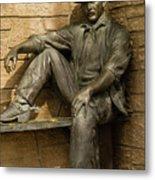 Sundance Kid Statue 5 Metal Print