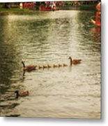 Sunday Afternoon In The Commons Metal Print