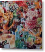 Sunday Brunch Metal Print