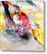 Sunday By The Tree Metal Print