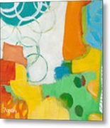 Sunday Day Bubbles Metal Print
