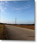 Sunday Drive Series Metal Print
