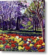 Sunday In The Park Metal Print by David Lloyd Glover