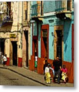 Sunday Morning Stroll Metal Print