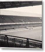 Sunderland - Roker Park - Main Stand 1 - Bw - Leitch - 1960s Metal Print