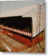 Sunderland - Roker Park - Main Stand 2 - Leitch - 1970s Metal Print