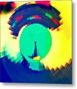 Sundial Of Emotions Metal Print