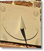 Sundial.  Metal Print