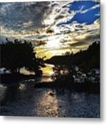 Sundown At Anne's Beach Metal Print