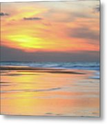 Sundown At Race Point Beach Metal Print