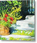 Sunfilled Steps 01 Metal Print