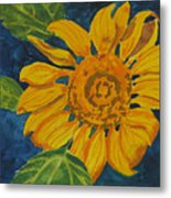 Sunflower - Mini Metal Print