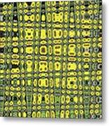 Sunflower #6595ew, Abstract, Metal Print