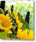 Sunflower Bouquet 2 Metal Print