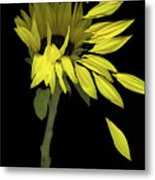 Sunflower Breeze Metal Print