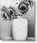 Sunflower Fall Metal Print