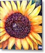 Sunflower Of Georgia Metal Print