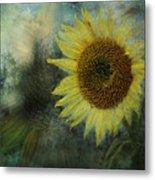 Sunflower Sea Metal Print