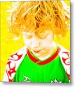 Sunflower Soccer Association Metal Print