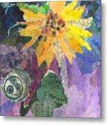 Sunflower Tall Metal Print