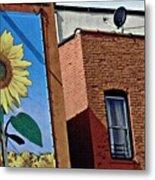Sunflower Town Metal Print