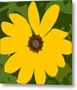 Sunflower Work Number 3 Metal Print