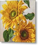 Sunflowers 1 Metal Print