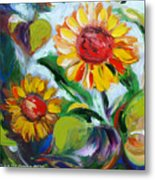 Sunflowers 10 Metal Print