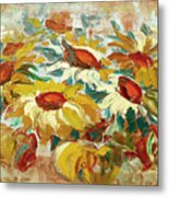 Sunflowers 15 Metal Print