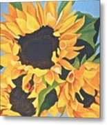 Sunflowers #3 Metal Print