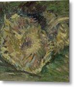 Sunflowers Gone To Seed Paris, August - September 1887 Vincent Van Gogh 1853  1890 Metal Print