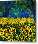 Sunflowers No2 Metal Print