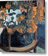 Sunflowers, 1901 By Paul Gauguin  Metal Print