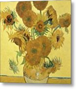 Sunflowers, 1888  Metal Print