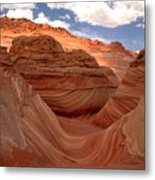 Sunkiss At Coyote Buttes Metal Print
