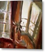 Sunlight From The Front Porch Metal Print