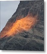Sunlight Mountain Metal Print