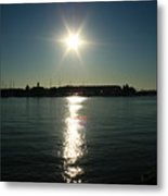 Sunlight On The Water Metal Print