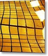 Sunlight On Tile Floor Metal Print