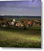 Sunlight Over The Loire Valley Metal Print