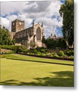 Sunny Day At Hexham Abbey Metal Print
