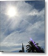 Sunny Day In Frisco Metal Print