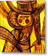 Sunny Warrior Metal Print