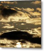 Sunny With Chance Of Clouds Metal Print