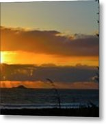 Sunrays And Clouds Metal Print