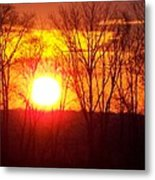 Sunrise 5 1 2009 002a Metal Print
