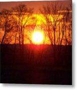 Sunrise 5 1 2009 002c Metal Print